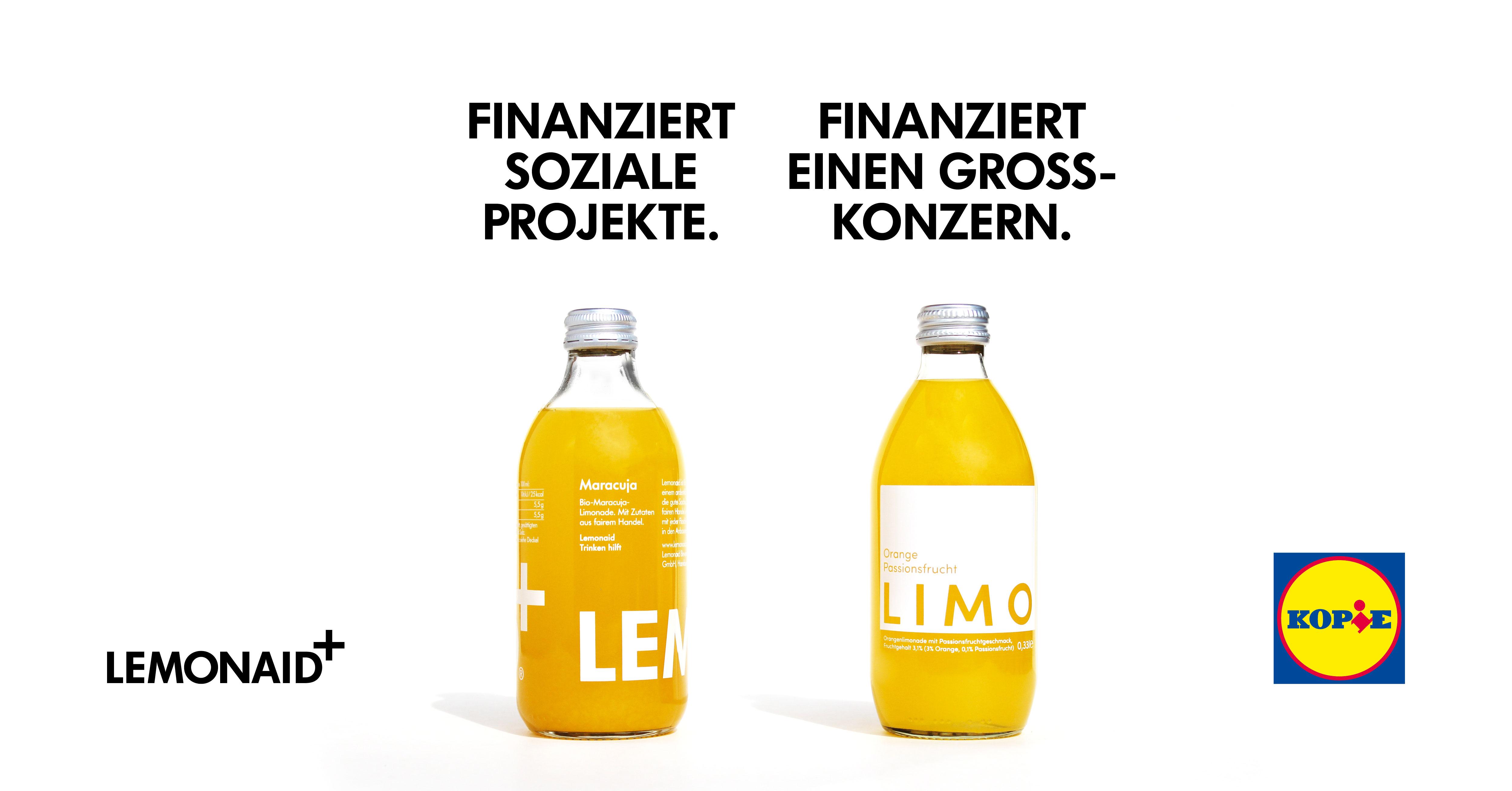 lemonaid vs lidl #lidlklontdich   was soll das?
